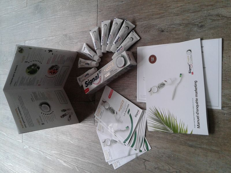 Mon pack ambassadeur reçu  - Signal Integral 8 Nature Elements