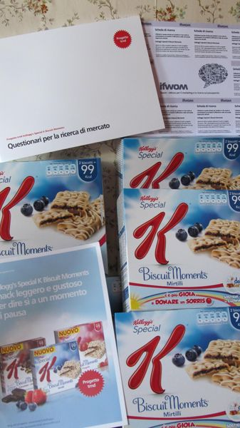 Il goloso kit :D - Kellogg's Special K Biscuit Moments